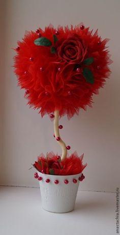 """Топиарии ручной работы. Ярмарка Мастеров - ручная работа Топиарий """"Сердце"""". Handmade.:"""