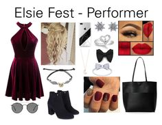 """""""Elsie Fest"""" by phoebematilda ❤ liked on Polyvore featuring Street Level, Monsoon, Warner Bros., Ray-Ban, Disney and Full Tilt"""