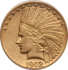 10-dollar Indian Gold #Coin. The half eagle of the 1813-1834 design type is one of the highlights of a type set of early American gold coins. Available at Lear Capital. Call for Pricing (800)783-1407.