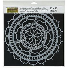 Ceiling Tile Stencil Rosetta Crafter/'s Workshop Moroccan Tiles Stencil