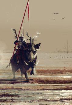 — Jakub Różalski — armored boar