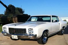 71 monte carlo- this pretty much looked like the car I built for my daughter, it would out run a '91 new Mustang 5.0 GT her mother was driving.              When I rolled this car from the garage after many months rolling in a car that my daughter hated as her first car- she was very happy.