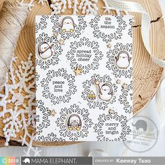 mama elephant | design blog: STAMP HIGHLIGHT: Mini Merry Messages