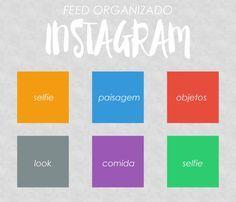 Organizando o seu feed no instagram