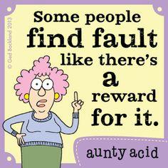 Aunty Acid Comic Strip, October 24, 2013 on GoComics.com