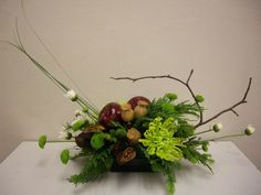 Image result for advanced floral design Modern Floral Arrangements, Flower Arrangements, White Snowflake, Snowflakes, Green Flowers, Evergreen, Ag Science, Poppies, Bouquet