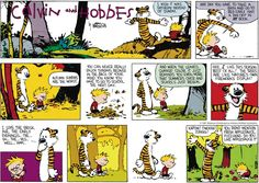 Calvin and Hobbes strip for October 22, 2017