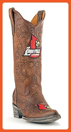 e74936b7154e5b NCAA Louisville Cardinals Womens Gameday Boots Brass 10 B M US     You can  find out more details at the link of the image.