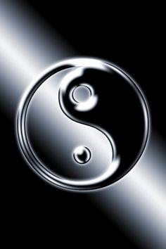 ☯ Yin and Yang ☯ Yin Yang Chinese, Yin En Yang, Arte Yin Yang, Yin Yang Art, Tatuajes Yin Yang, Yin Yang Tattoos, Leo Tattoos, Ying Yang Wallpaper, 3d Wallpaper