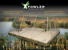 Duck Blinds California | Floating Duck Blinds California - Xfowler