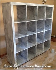 ikea expedit hack - how to change the color
