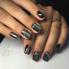 Nails winter black toe 24 ideas for 2019 Black Nail Art, Black Nails, Pink Nails, Black Toe, Fingernail Designs, Nail Art Designs, Cat Eye Nails, Trendy Nail Art, Classy Nails