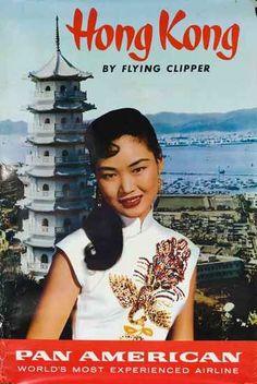 Pan am takes you to Hong Kong!! 1960s!
