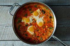 Shakshuka with Grains and Feta Recipe on Food52, a recipe on Food52