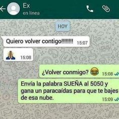 Chistes Graficos - So Funny Epic Fails Pictures Sad Quotes, Life Quotes, Ex Amor, Funny Text Conversations, Funny Phrases, Funny Times, Spanish Memes, Funny Text Messages, New Memes