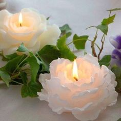I do not claim ownership of these images unless otherwise stated. Romantic Candles, Best Candles, Diy Candles, Scented Candles, Pillar Candles, Candle Art, Candle Lanterns, Light Crafts, Candels