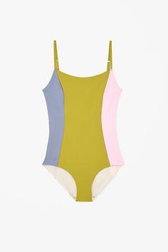 Block-colour swimsuit   SS2015 COS