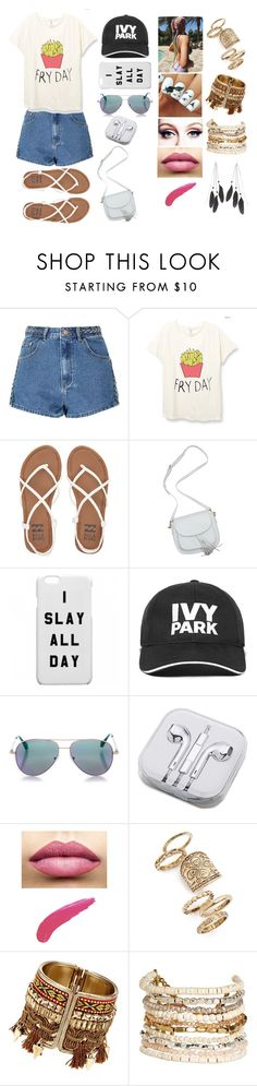 """""""Lilly #1"""" by megxnmclxren ❤ liked on Polyvore featuring Glamorous, Billabong, Ivy Park, Cutler and Gross, PhunkeeTree, TheBalm, Topshop, Panacea and Charlotte Russe"""