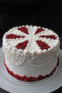 Red Velvet Layer Cake! With my conbination of Cream Cheese Icing and Swiss Buttercream, I ask you…….Can it get any better? The thing about Red Velvet Cake for me, is that I never remember just how delicious it is, until I am eating it! I wonder why it is often so easily forgotten in my …