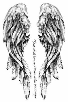 Fallen Angel Wings Tattoo Design Clipart angel wings tattoo - Tattoos And Body Art