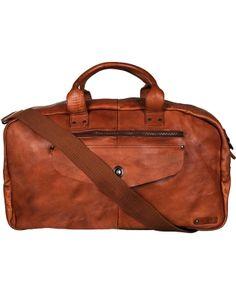 NN07 Montallgro Weekend Bag Tan  i gruppen Vesker / Weekendbager hos Care of Carl (10969410)