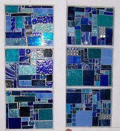 blue windows together