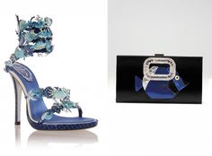 René Caovilla crab sandals and Roger Vivier bag | Runwayward