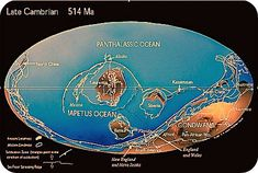 plate tectonics upper cambrian | River City Malone » Once upon a time, 500 million years ago