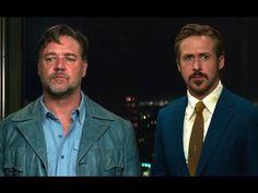 Ryan Gosling e Russell Crowe no trailer do filme 'Dois Caras Legais' - Cinema BH