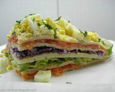 Naturista de Corazón Comida Natural y Saludable: Torta salada de panqueques