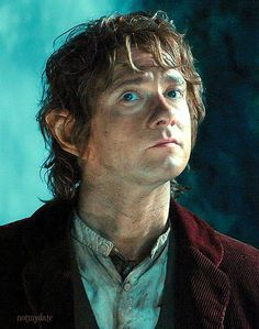 Bilbo Baggins! I have no idea why he is making the face he i, but it is hilarious!!!!!!!!!!!!!!!!!!!!!