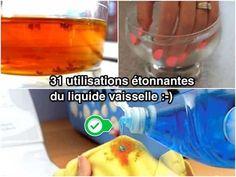 On a tendance à garder le liquide vaisselle près de l'évier et à ne s'en servir que pour la vaisselle. Mais son pouvoir lavant est incroyablement utile pour toute la maison ! Voici 31 utilisations du produit vaisselle pour toutes les pièces de la maison.  Découvrez l'astuce ici : http://www.comment-economiser.fr/31-utilisations-etonnantes-du-liquide-vaisselle-pour-maison.html?utm_content=bufferb0449&utm_medium=social&utm_source=pinterest.com&utm_campaign=buffer