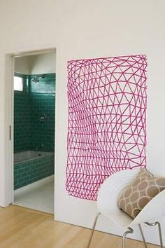 pink linework