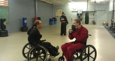 Criptaedo: Adaptive Martial Arts for People in Wheelchairs | Wheelchair Accessibility Blog and Disability News from AMS Vans, Inc.