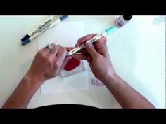 Misting with Distress Markers By Taylor Van Bruggen #Tutorials