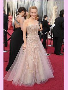 Ball Tulle Lace Oscar Style Dresses ASC0014