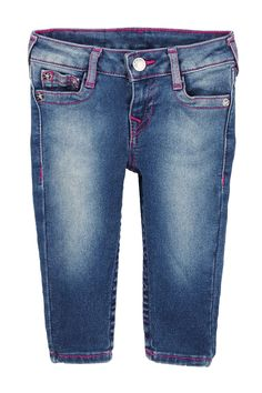 Fuschia Single End Jean (Baby Girls)