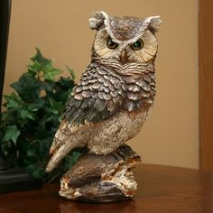 """Owl Statue 12"""""""