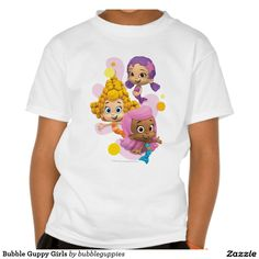 Bubble Guppy Girls T Shirt. Artwork designed by Bubble Guppies. Price $18.95 per shirt
