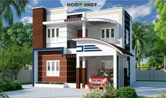 Modern indian home design by arkitecture studio contemporary home designs flat roof home plan homeinner home plan sq feet flat roof contemporary home malvernweather Image collections