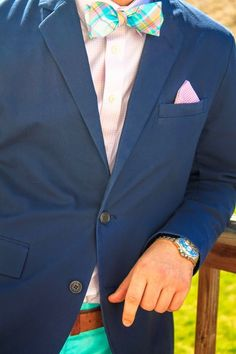 Preppy Easter Outfits- Men