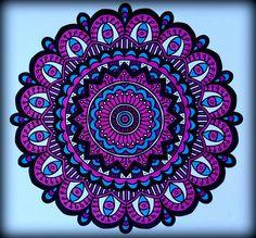 Mandalas, fleurs, coloriages