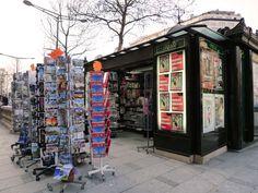 Champs Elysees Paris, Kiosque  http://www.ChampsElysees-Paris.com