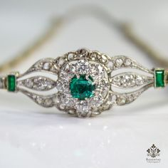 Antique Edwardian 18k Gold Diamond