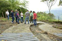 20 familias de la vereda Aguazul Alto beneficiadas con obras de mantenimiento…