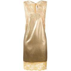 b2d1c45e7f5 Stella McCartney Lace Insert Shift Dress (75
