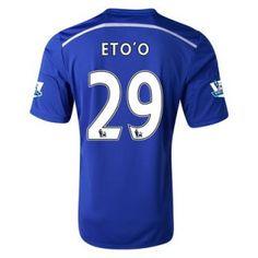 Nueva Camiseta de Eto'o del Chelsea Primera 2014 2015