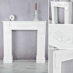 Elegant Weihnachtsdeko: Kaminumrandung U0026 Adventskranz Aus Beton | Pinterest | Gold  Interior, Black White Gold And Decoration