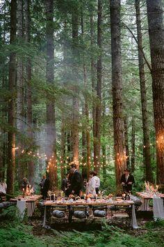 Cabin Wedding, Cottage Wedding, Wedding In The Woods, Boho Wedding, Dream Wedding, Wedding Day, Woods Wedding Ideas, Garden Wedding, Wedding Dress