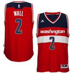 John Wall Washington Wizards adidas Swingman Road Jersey e88e4454a